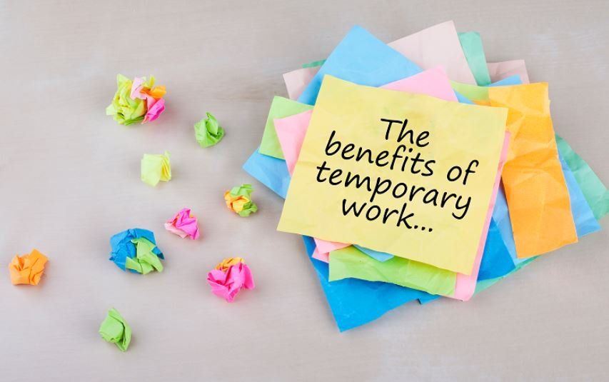 Benefits of temporary employment ('temping')